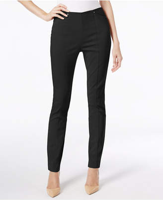 Alfani Seamed Pull-On Skinny Ankle Pants