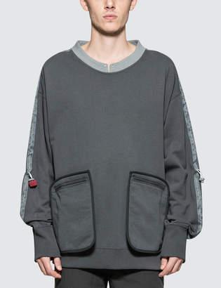 C2h4 Los Angeles Data Cable Crewneck Sweatshirt