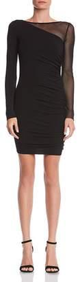 Bailey 44 Better Half Mesh-Inset Jersey Dress