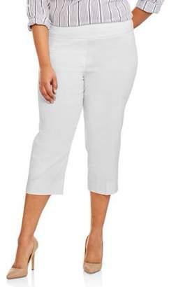Lifestyle Attitudes Women's Plus Capri Pants