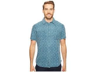 Agave Denim Bougainvillea Vine Short Sleeve Button Up Men's Short Sleeve Button Up