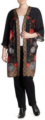 Daniel Rainn DR2 by Long Printed Kimono (Plus Size)