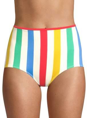 BRIGITTE Solid And Striped The Bikini Bottom