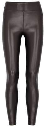 Koral Activewear Lustrous Charcoal Jersey Leggings