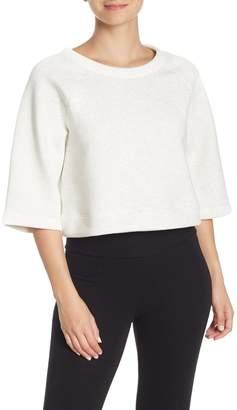 New Balance Boxy Reversible Pullover Sweatshirt