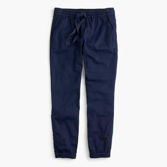 J.Crew Petite Point Sur seaside pant in cotton twill