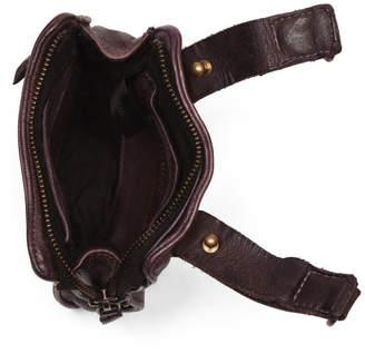 Leather Convertible Crossbody