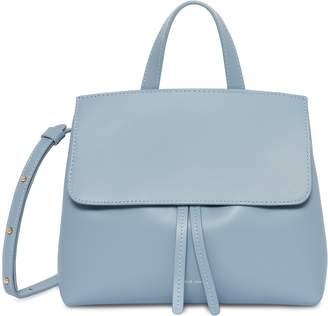 Mansur Gavriel Calf Mini Mini Lady Bag - Grey Blue