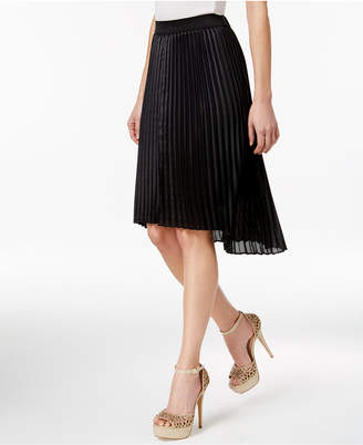 Thalia Sodi Pleated High-Low Skirt, Only at Macy's $69.50 thestylecure.com