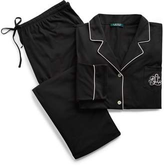 Ralph Lauren Cotton Jersey Pajama Set