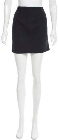 Michael Kors Woven Mini Skirt
