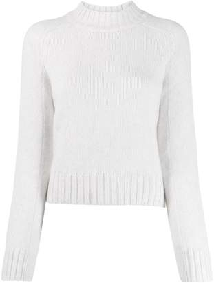 Vince cropped knit sweater
