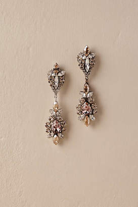 Deepa Gurnani La Rosa Chandelier Earrings
