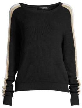 Generation Love Hunter Side-Stripe Cotton Sweater
