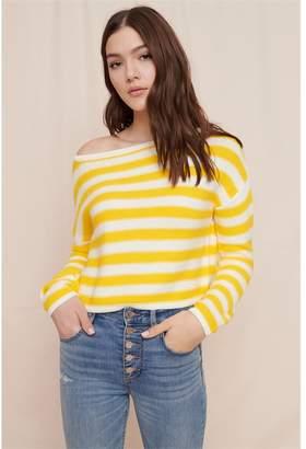 Garage Off-The-Shoulder Sweater - FINAL SALE