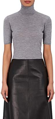 Barneys New York Women's Cashmere-Silk Short-Sleeve Sweater