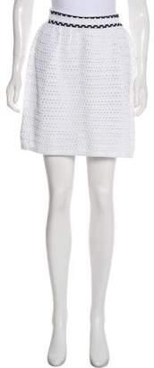 RED Valentino Knit Mini Skirt