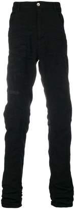Poème Bohémien slim treated jeans
