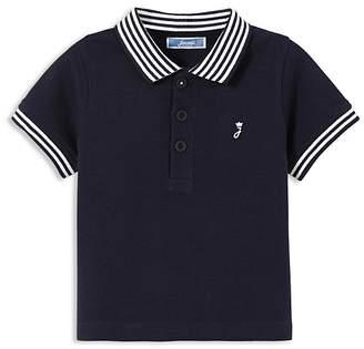 Jacadi Boys' Striped Trim Polo Shirt - Baby $27 thestylecure.com