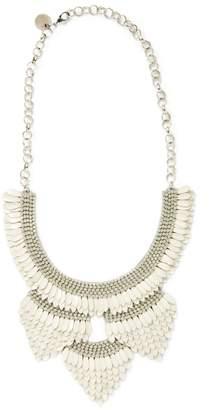 Deepa Gurnani Women's Enamel Feather Statement Necklace