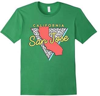 San Jose California T Shirt Retro Design CA Souvenirs