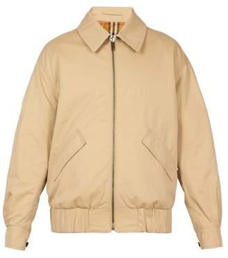 Burberry Unisex Harrington Reversible Cotton Jacket - Mens - Multi