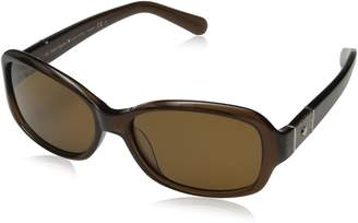 Kate Spade Women's Cheyenne Polarized Round Sunglasses