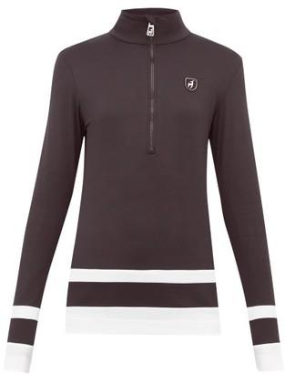 Toni Sailer Zoe Striped Technical Jacket - Womens - Black