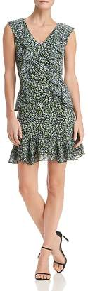 MICHAEL Michael Kors Floral-Print Ruffle Dress