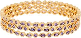 Melinda Maria Set of Three Bangle Bracelets - Taylor