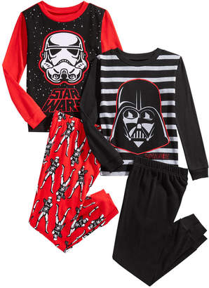 43f5c3df03 Star Wars Little   Big Boys 4-Pc. Darth Vader Pajama Set