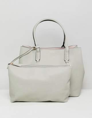 Carvela Selena Braid Front Minimal Tote Bag