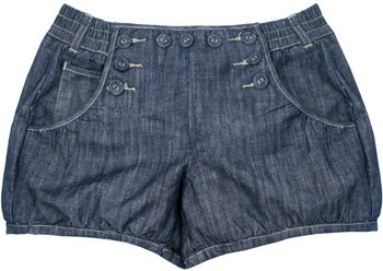Soundgirl denim Tawny shorts
