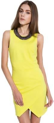 Camii Mia Women's Plain Slim Fit Sleeveless Dress