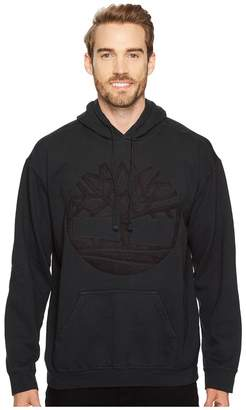 Timberland Vintage Tree Hoodie w/ Micro Suede Logo Men's Clothing