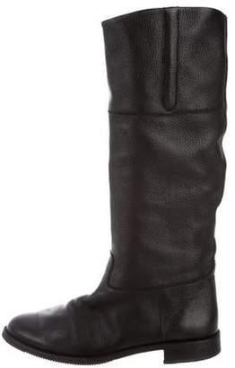Gravati Leather Knee-High Boots