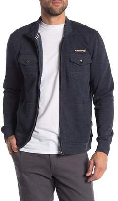 Report Collection Zip Fleece Patch Pocket Jacket