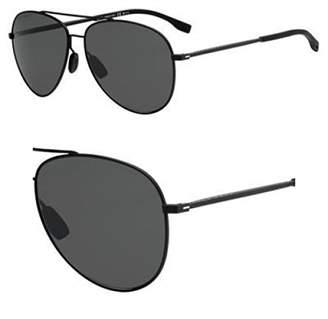 5f5db864da6 HUGO BOSS BOSS by Men s Boss 0938 s Polarized Aviator Sunglasses 62 mm