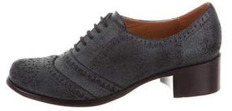 Elizabeth and James Distressed Brogue Oxfords