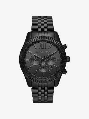 Michael Kors Lexington Black-Tone Watch