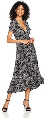 LIRA Women's Arabella Floral Wrap Maxi Dress