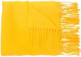 Moncler fringed scarf