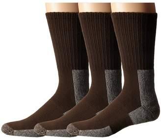 Thorlos Trail Hiking Crew 3 Pair Pack Men's Crew Cut Socks Shoes