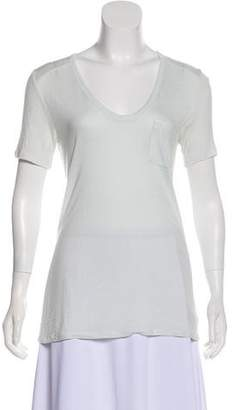 Alexander Wang Lightweight Short Sleeve Top
