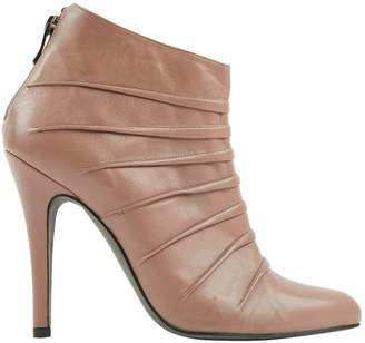 Barbara Bui Pink Leather Ankle boots