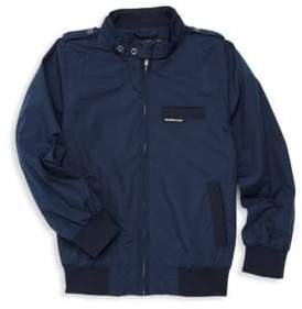 Members Only Boy's Mockneck Full-Zip Jacket