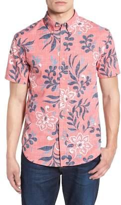 Reyn Spooner Perennial Pareau Tailored Fit Sport Shirt