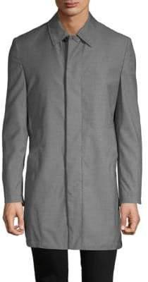 Brioni Wool Car Coat