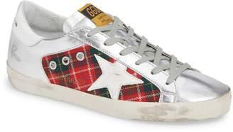 Golden Goose Superstar Plaid Sneaker