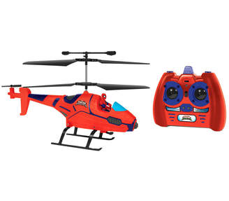 Spiderman World Tech Toys Marvel Ultimate Ir Hero Pilot Rc Helicopter